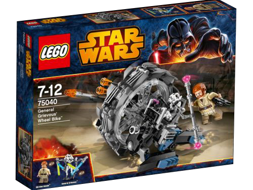 75040 General Grievous' Wheel Bike