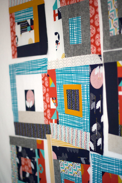 Tsuru quilt blocks in progress by frommartawithlove, on Flickr
