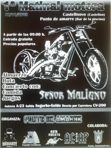 1ra Matinal Motera Castellnovo
