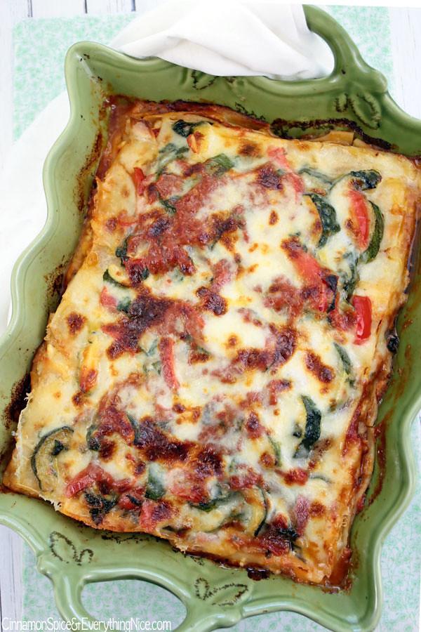 Veggie Lover'S Lasagna | Cinnamon-Spice & Everything Nice