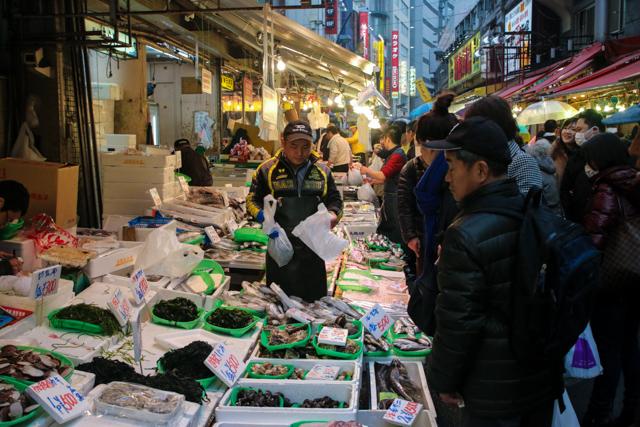Seafood vendor