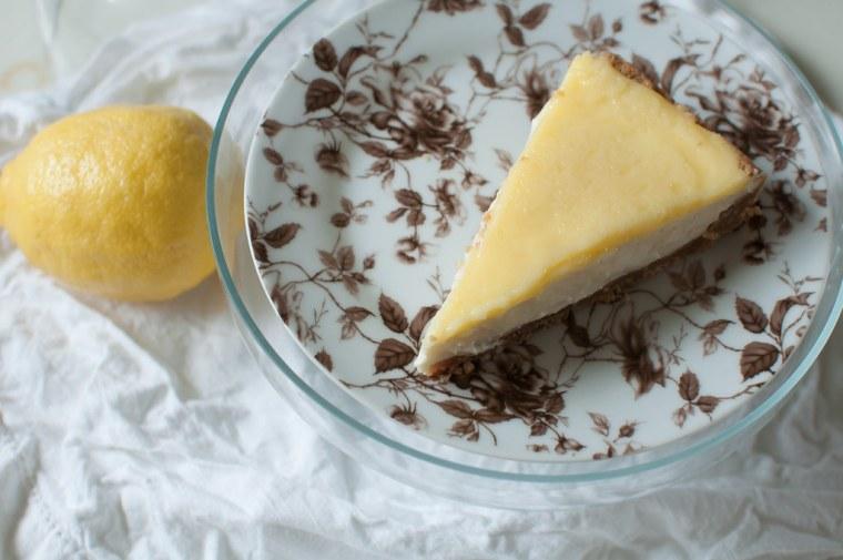 Lemon Cheesecake Pie 1