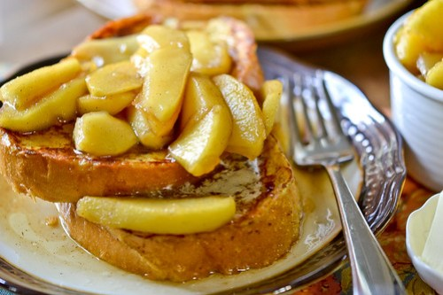 Maple-Apple French Toast-10