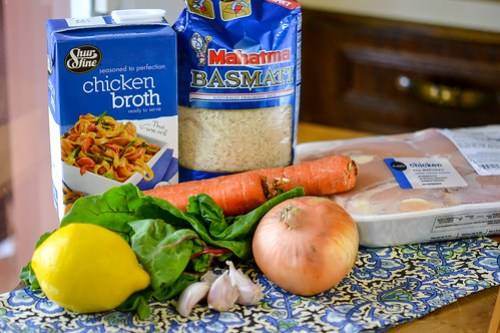 One-Pot Chicken & Rice with Swiss Chard (1 of 13)