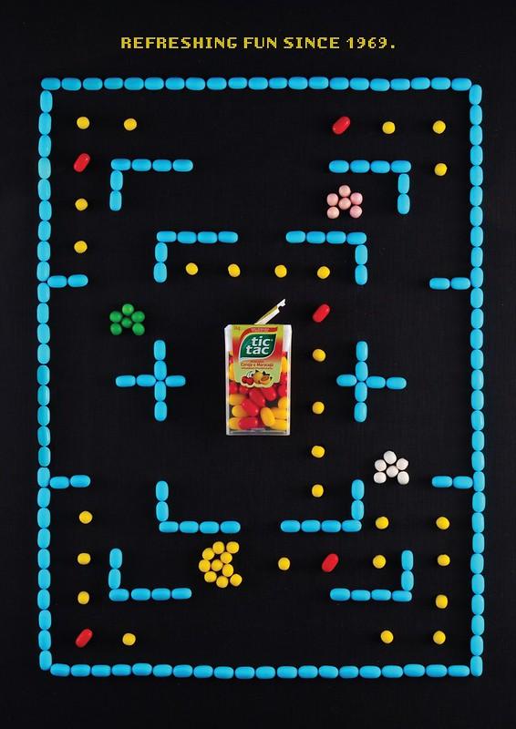Tic-Tac - PacMan