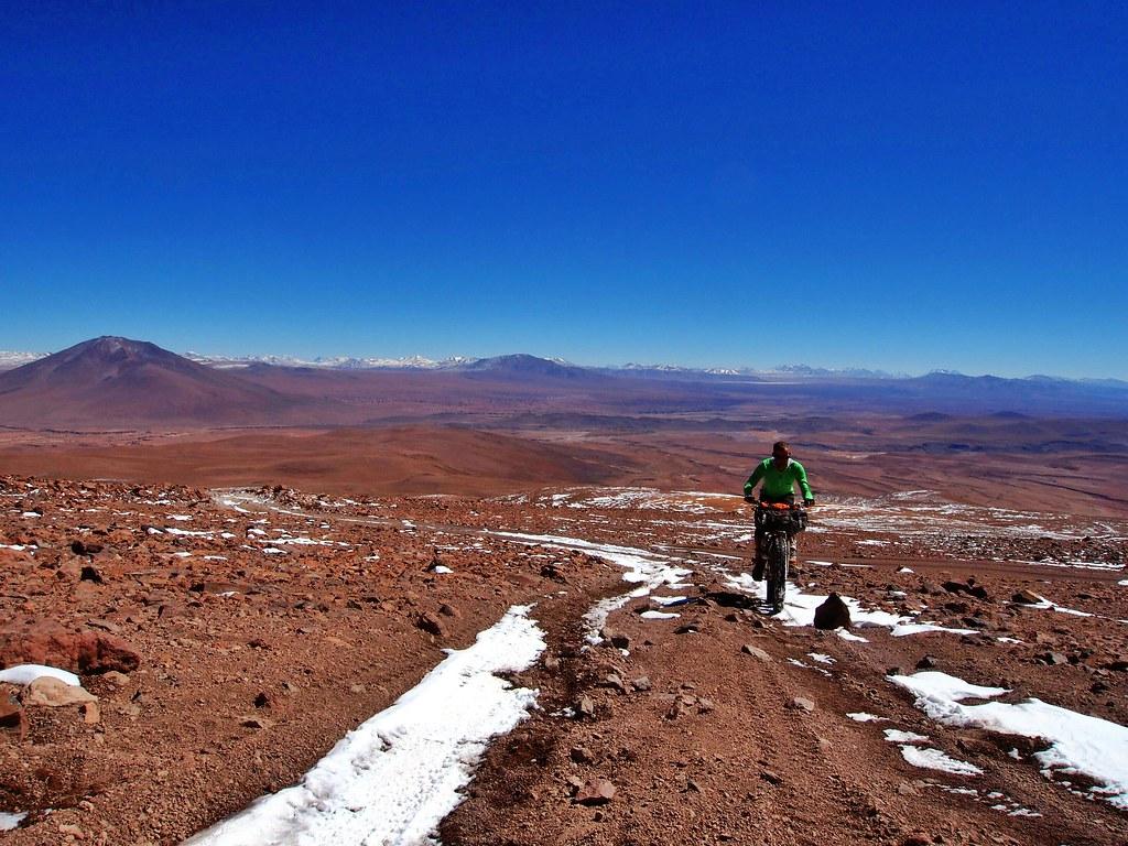 Climbing Uturuncu