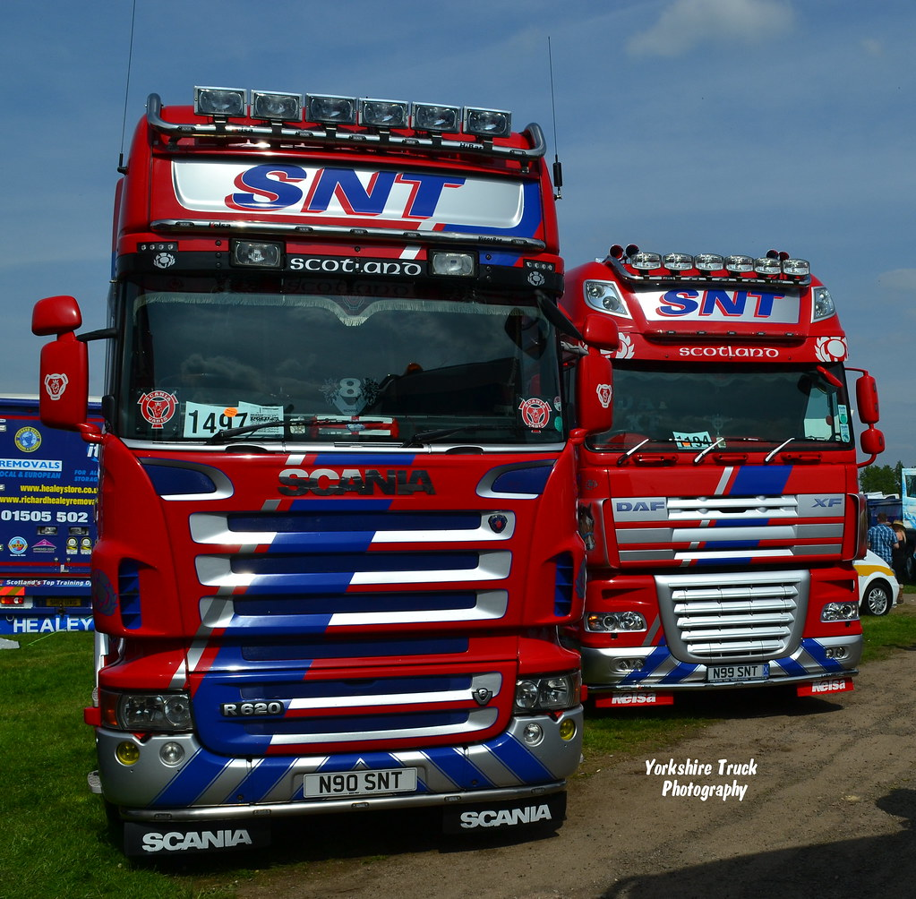 Daf Scania Stuart Nicol Transport Scania R620 V8 Topline Daf Xf10 Flickr