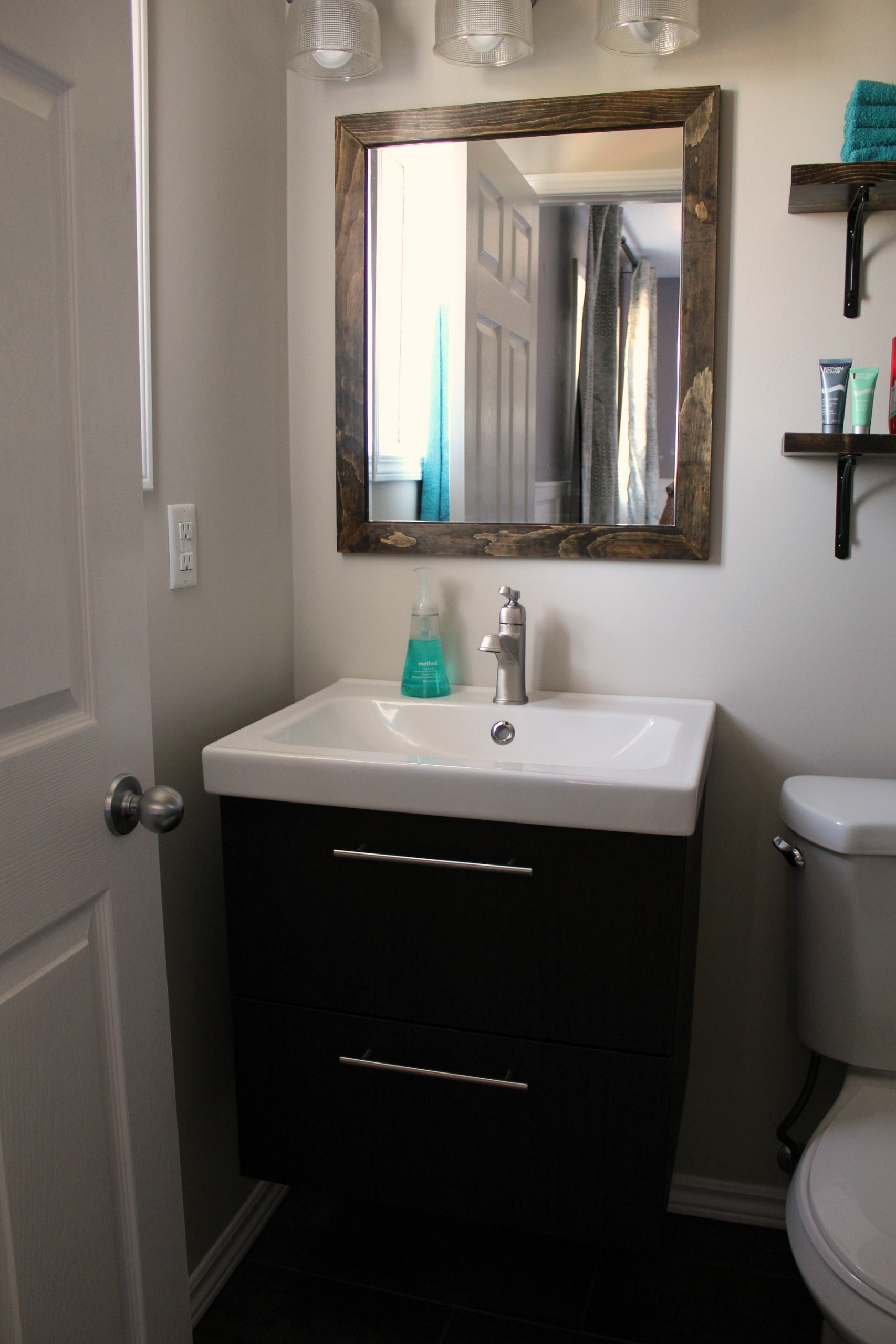 Ikea Badezimmer Installation Turtles And Tails Ensuite Bathroom Reno Reveal