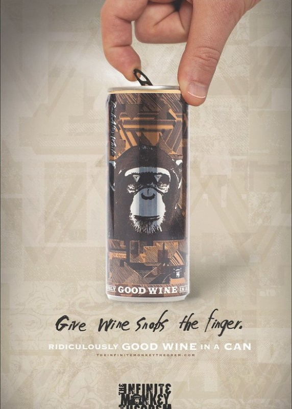 The Infinite Monkey Theorem - Wine snobs
