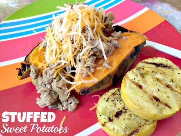 Stuffed Sweet Potato