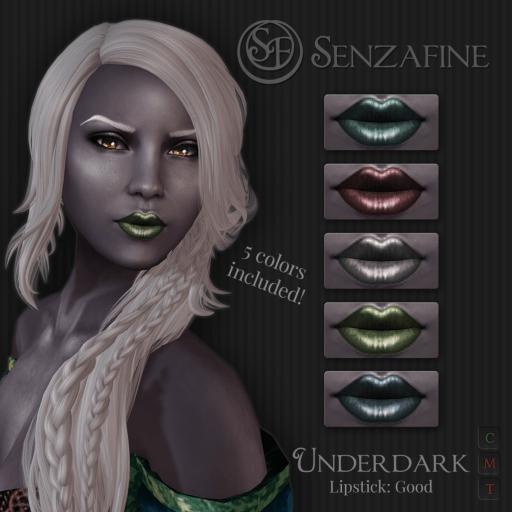 """""""Underdark"""" Lipstick: Good Pack Ad"""