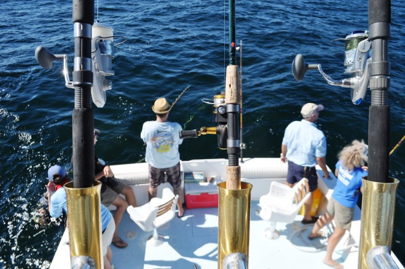 A Day with Florida Sea Grant and King Fisher Fleet - Learning About Barotrauma on Fish and Descending Equipment, Oct. 17, 2014