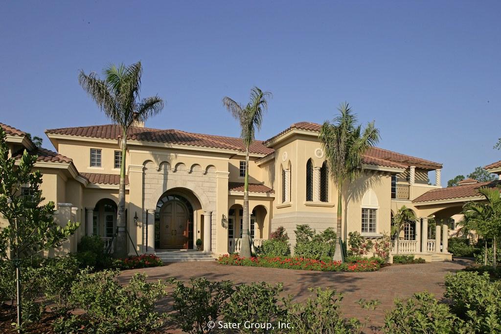 Mizner Influenced Mediterranean Styled Estate Home