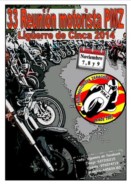 ·· Reunión Motorista PMZ (Ligüerre de Cinca)