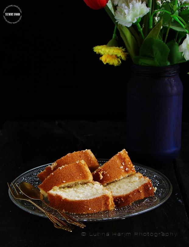 Grandma Style Stovetop Ghee Cake in 'Wonder Pot'