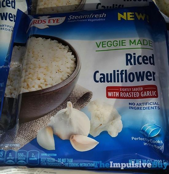 Birds Eye Steamfresh Veggie Made Riced Cauliflower with Roasted Garlic