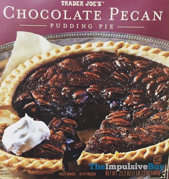 Trader Joe's Chocolate Pecan Pudding Pie