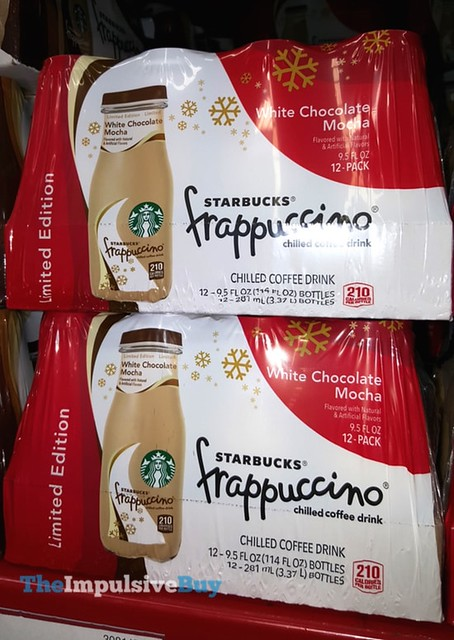 Limited Edition White Chocolate Mocha Starbucks Frappuccino Coffee Drink