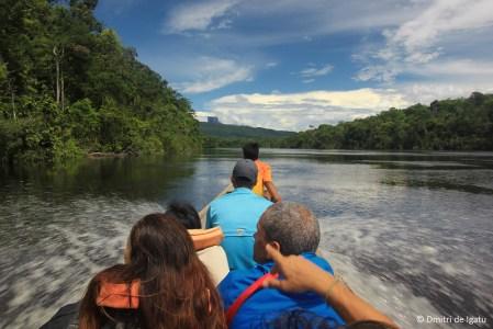 Subida do Rio Carrao