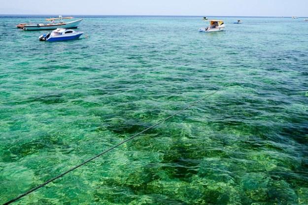 Clear Bunaken Sea