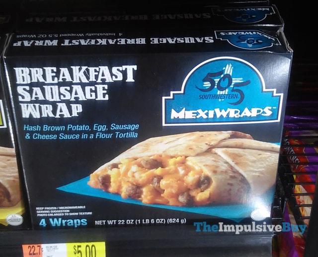 505 Southwestern Breakfast Sausage Mexiwraps
