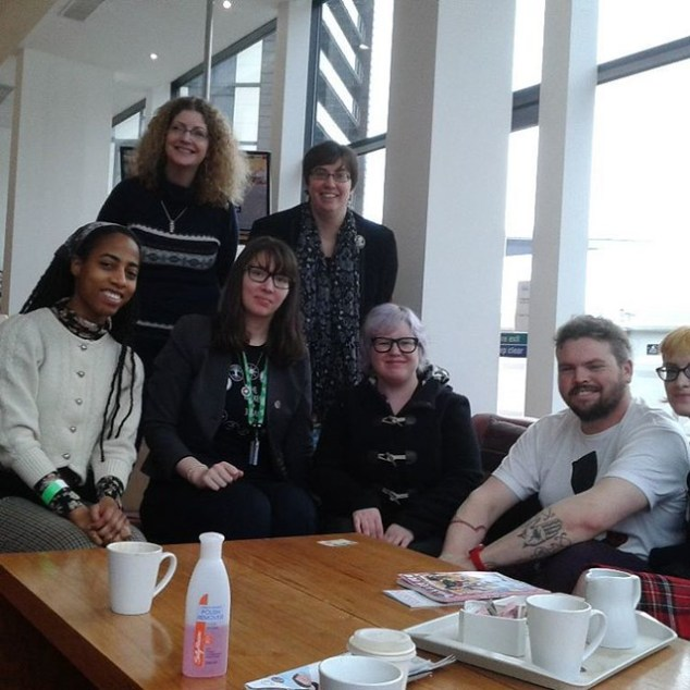 Mini Women in Comics FB group meet at Thought Bubble