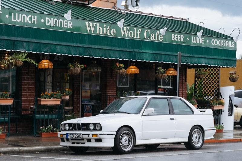 White M3 in the wild