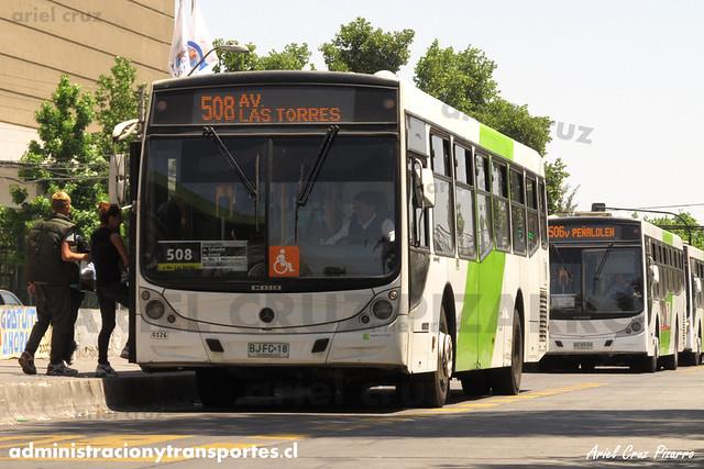 Transantiago - Metbus - Caio Mondego H / Mercedes Benz (BJFC18)