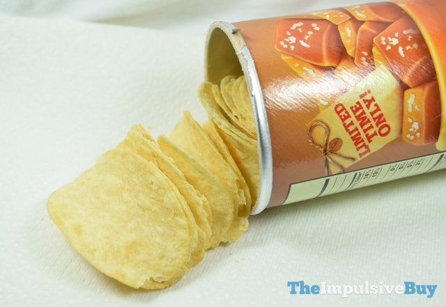 Limited Time Only Salted Caramel Pringles 2