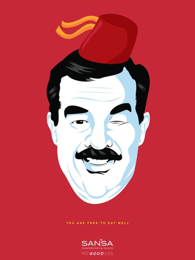 Sansa Fast Good Food - Dictators 4 Sadam Hussein