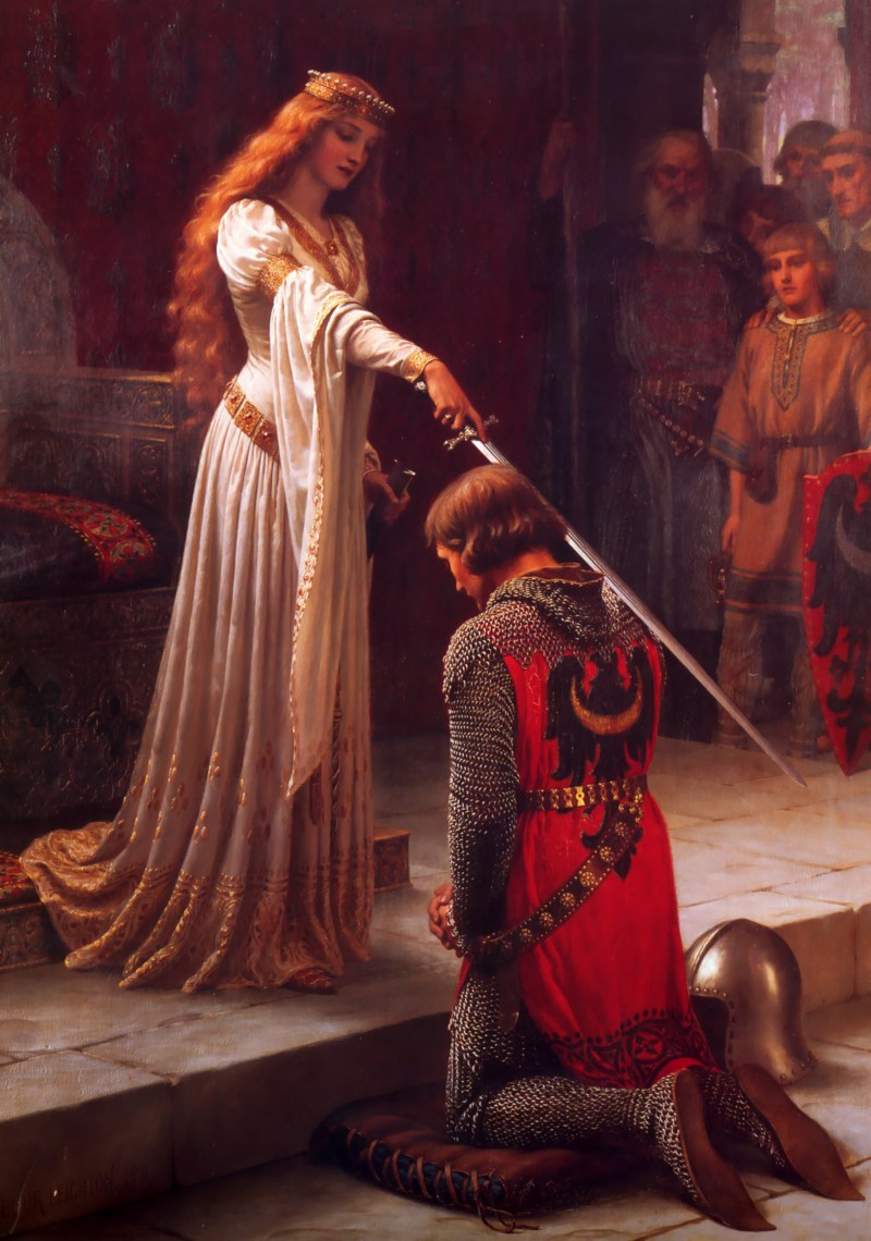 The Accolade by Edmund Leighton, 1901