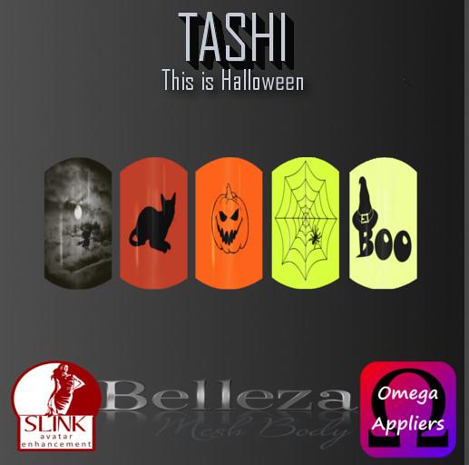 TASHI This is Halloween