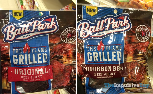 Ball Park The Flame Grilled Beef Jerky (Original and Bourbon BBQ)