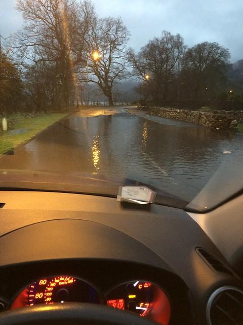 Floods at Loch Earn #stormfrank
