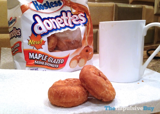 Hostess Donettes Maple Glazed Mini Donuts 3