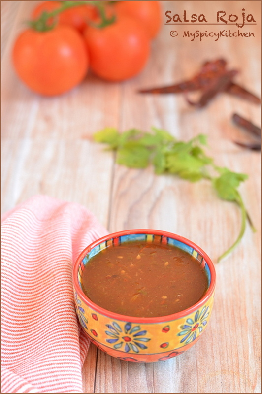 Mexican Sauce, Mexican Salsa, Mexican Red Sauce, Salsa, Mexican Food, Mexican Cuisine, Condiment, Mexican Condiment, Blogging Marathon, Buffet On Table, Salsa Roja,