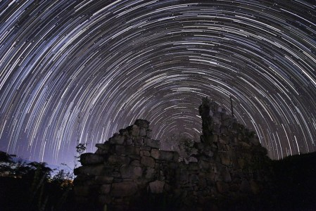 Star Trail, Ruínas de Igatu.