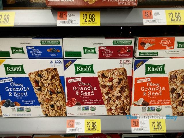 Kashi Organic Chewy Granola & Seed Bars