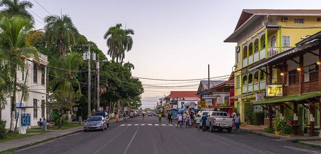 Bocas del Toro street