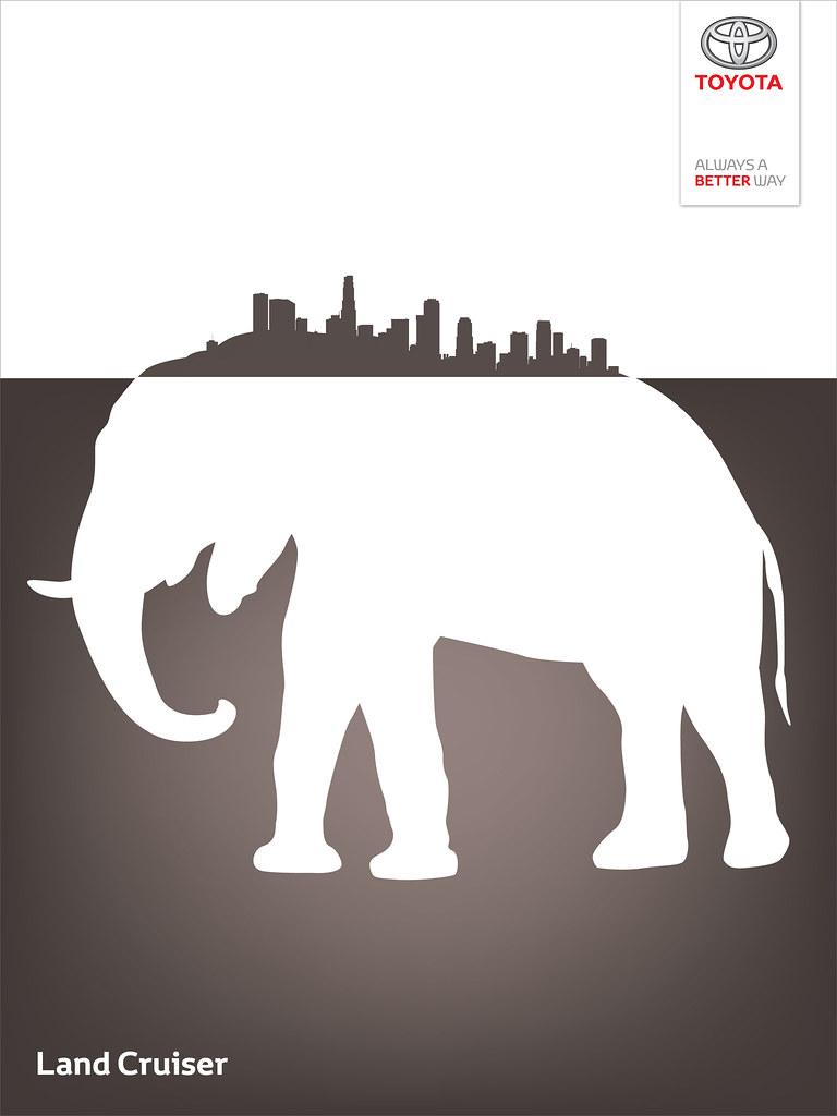 Toyota Land Cruiser - Wild City Elephant