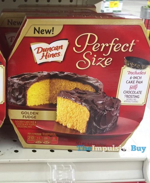 Duncan Hines Perfect Size Golden Fudge