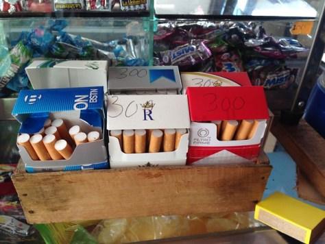 Cigarettes for sale