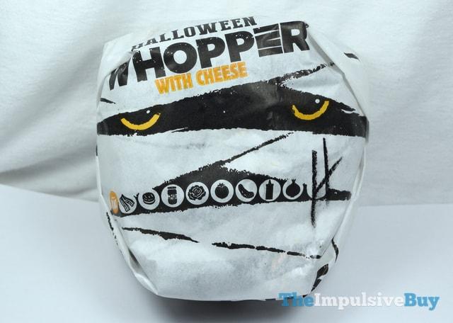 Burger King A.1. Halloween Whopper Wrapper