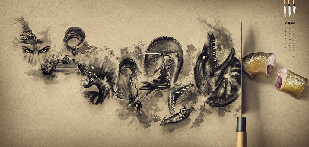 Brinox Knifes - Fish 3