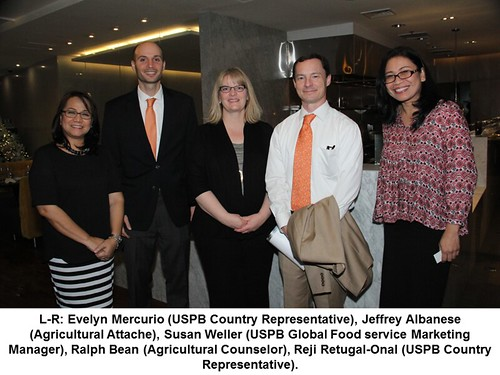 USPB & USDA Representatives at the USPB Thanksgiving Dinner