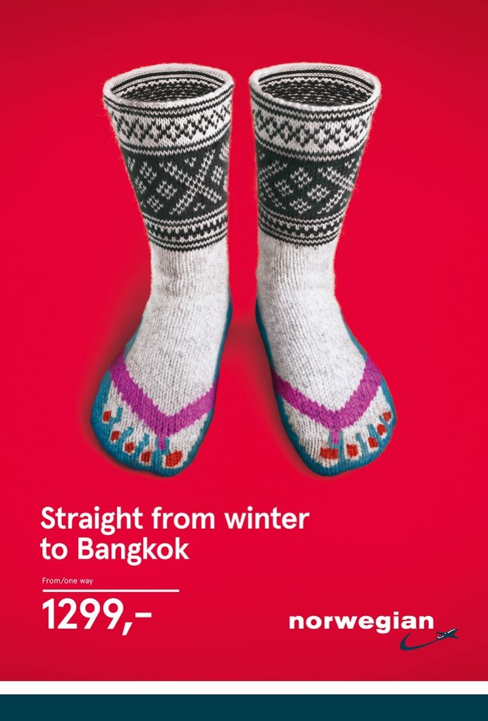 Norwegian Airline - Norwegian Knitwear 3