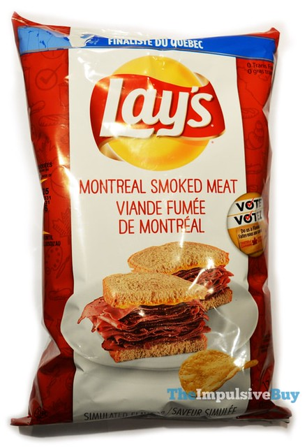 Lay's Do Us a Flavour Montreal Smoked Meat Potato Chips