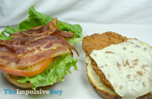 Jack in the Box Homestyle Ranch Chicken Club Halves