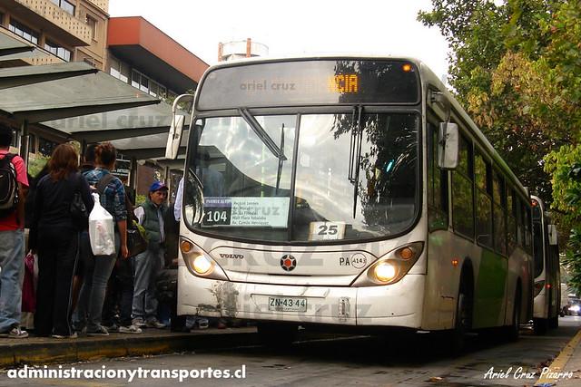 Transantiago - Alsacia - Marcopolo Gran Viale / Volvo (ZN4344) (104)
