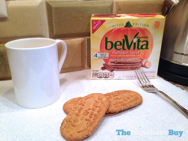 Nabisco Limited Edition Pumpkin Spice belVita Breakfast Biscuits 4